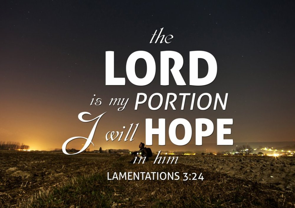 i will hope in the lord